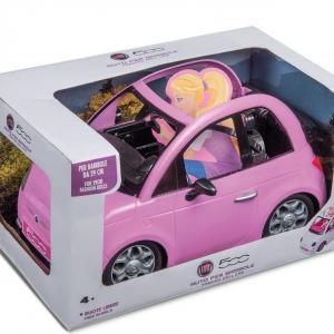 Fiat 500 Auto Rosa