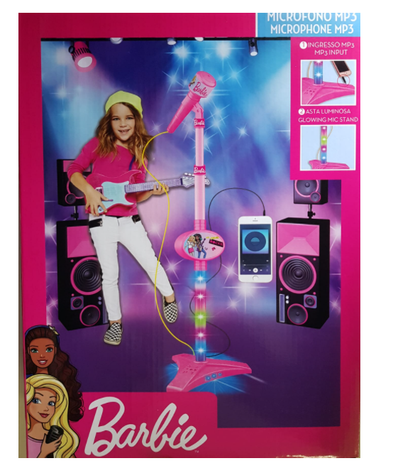 Barbie Microfono Singolo