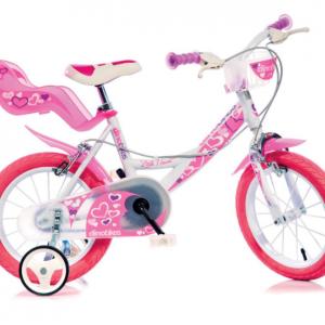 Bicicletta Per Bambina 16″ White/Pink