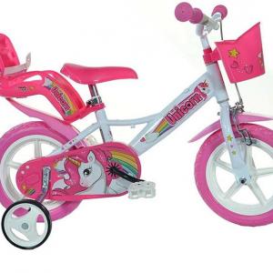 """Bicicletta Per Bambina Unicorno 12"""""""