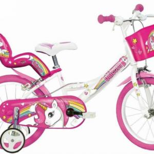 Bicicletta Per Bambina Unicorno 16″
