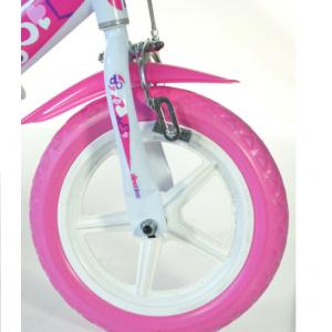 """Bicicletta Per Bambina DinoBikes 12"""""""