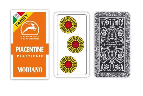 Carte Piacentine Plastificate Modiano